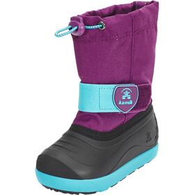 Kamik Jet Chaussures Enfant, purple/teal-violet/sarcelle